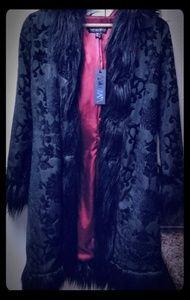 Widow Faux Fur Coat
